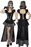 Vampir-Kostüm Damen schwarz S-M