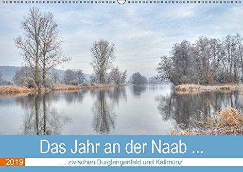 Das Jahr an der Naab zwischen Burglengenfeld und Kallmünz (Wandkalender 2019 DIN A2 quer): Die Naab von Januar bis Dezember (Monatskalender, 14 Seiten ) (CALVENDO Orte)