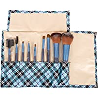 Puna Store Makeup Brush Set, Blue, 9 Piece