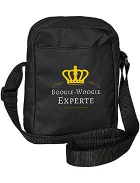 Umhängetasche Boogie-Woogie Experte schwarz