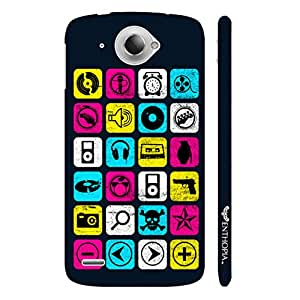 Lenovo S 920 Music Checkers designer mobile hard shell case by Enthopia