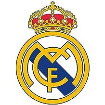 Adhesivo mural del escudo del Real Madrid FC - Póster auto-adhesivo - 600x 600mm - Mediano