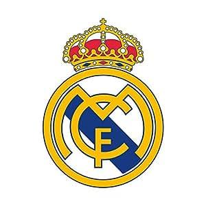 real madrid cf football club crest wand aufkleber selbstklebend poster wall art gr e 850 mm. Black Bedroom Furniture Sets. Home Design Ideas