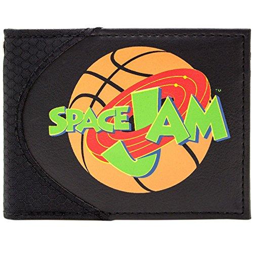 Space Jam Michael Jordan & Looney Tunes Schwarz Portemonnaie Geldbörse
