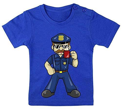 König Für Erwachsenen Plus Kostüm - HARIZ Baby T-Shirt Polizist Cool Tasse