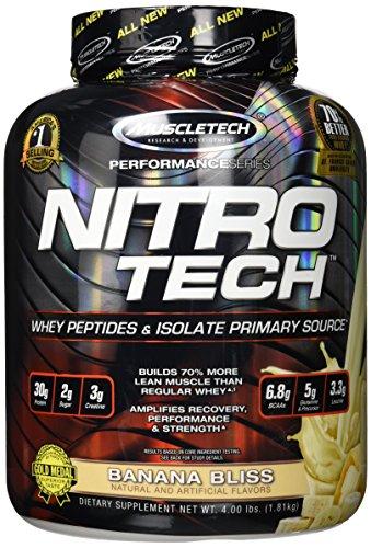Bliss Zucker (Muscletech Performance Series Nitro-Tech (4lbs) Banana Bliss, 1.8 kg)