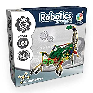 Science4you-Robotics Robotics Scorpiobot-Juguete Científico y Educativo Stem para Niños +8 Años, Multicolor (80002226)