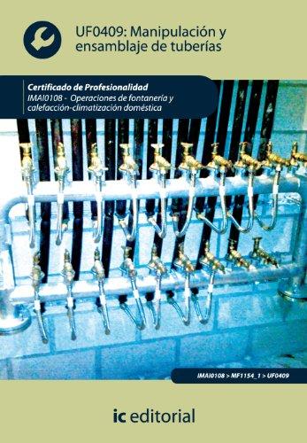 Manipulación y ensamblaje de tuberías. imai0108 - operaciones de fontanería y calefacción-climatización...