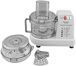 Panasonic 230-Watt Plastic Food Processor, White