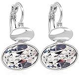 Ohrringe mit Kristallen von Swarovski® Silber Crystal Ohrhänger NOBEL SCHMUCK