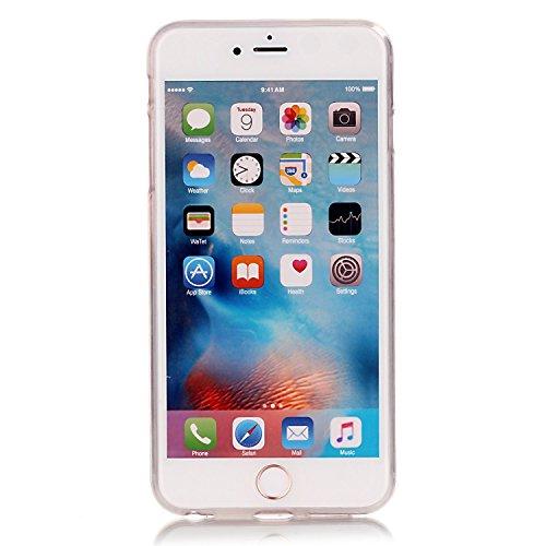 TPU Silikon Schutzhülle Handyhülle Painted pc case cover hülle Handy-Fall-Haut Shell Abdeckungen für Smartphone Apple iPhone 6 6S+Plus (5.5 Zoll)+Staubstecker (E7) 12