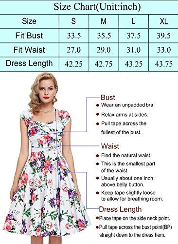 Belle Poque Fashion Sommer 1950s Vintage Kleid Bandeau Off Shoulder Partykleid Strandkleid Dunkelblau