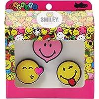 Crocs Jibbitz Smiley Brand Love 3-Pack Rubber