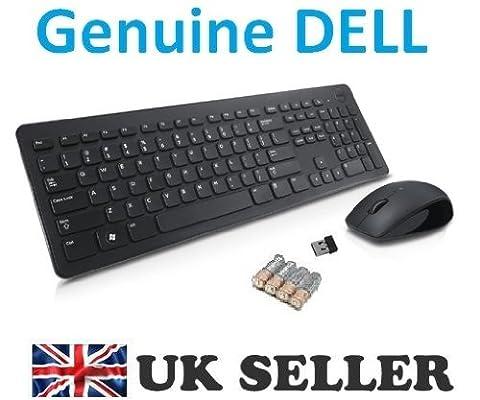 Dell KM632Ensemble Clavier Souris sans fil Combo sans fil, AZERTY –-Disposition Français, Dell P/N: wft2j, 6N5ww, NEUF, livré avec piles et récepteur USB sans fil, NEUF et emballé, livraison