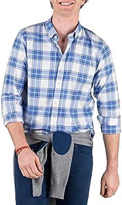El Ganso 1050s200022 Camisa Casual, , edium (Tamaño del Fabricante:) para Hombre