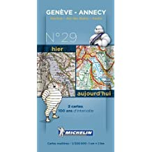 Annecy Centenary Maps - Pack 029 (Michelin Historical Maps) by Michelin (2014-01-14)