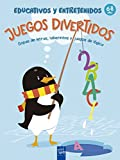 Juegos divertidos educativos y entretenidos: 6-8 años. Sopas de letras, laberintos y juegos de lógica (1001 actividades)