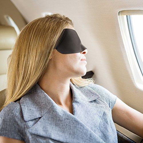 Ellesye maschera mascherina occhi 3d per dormire con tappi for Tappi orecchie per dormire