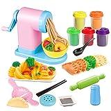 Nudelmaschine Knete, Spielzeug Spielwaren der Nudel Maschinen DIY der Farbe-3D