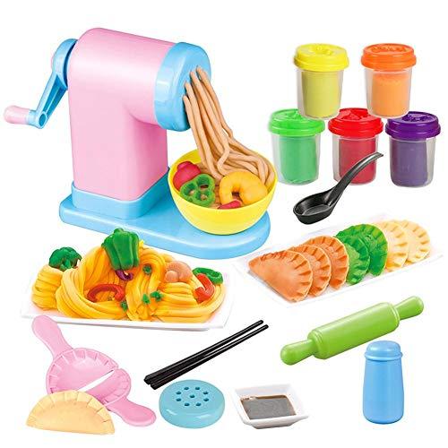 332PageAnn intelligente knete Küchenspielzeug Nudelmaschine Lernspielzeug Rollenspiele Geschenk FürJungen und Mädchen