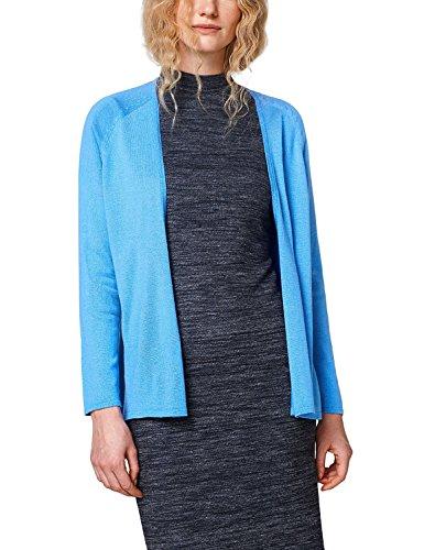 ESPRIT Women's Open Cardigan Blue in Size L