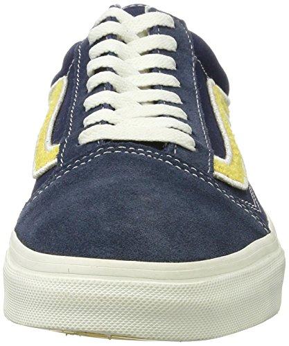 Vans Old Skool, Chaussures de Running Homme Bleu (Mlx)
