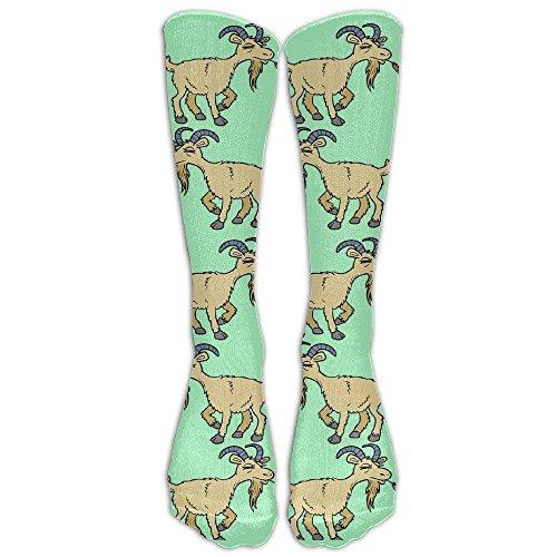 cc1f29f94 Funny Goat Men s Women s Fashion Long Socks Athletic Sports Socks