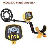 WOSOSYEYO Professionelle U Metalldetektor LCD Display Schatz Gold Hunter
