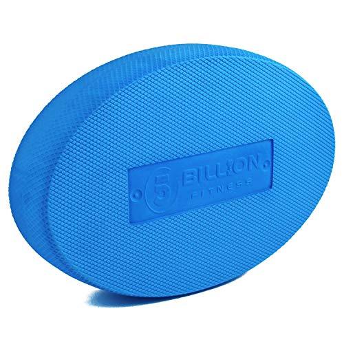 XQDSP Balance Pad Oval Balance Board Koordinationspad Rutschfest für Pilates Physiotherapie Rehabilitation und Gleichgewichtstraining in blau,Blue