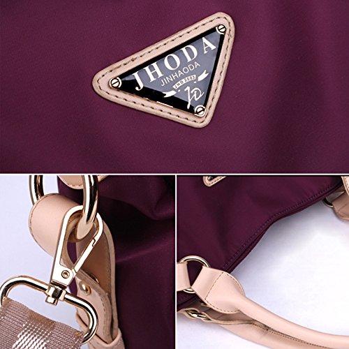 Milya Nylon Handtaschen Reisetaschen Hochwertige Tasche Dunkelblau