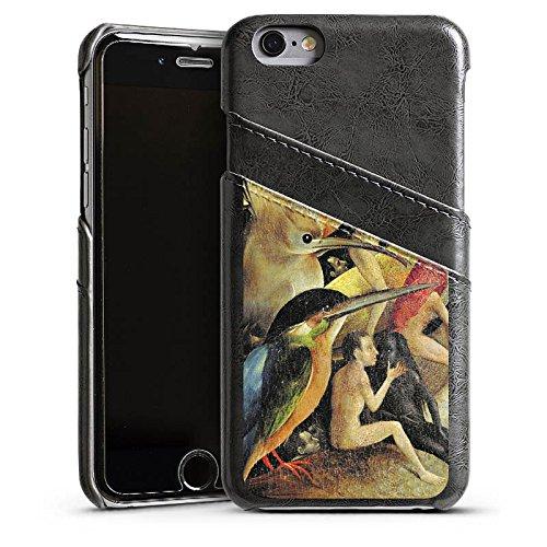 Apple iPhone 5 Housse Étui Silicone Coque Protection Jérôme Bosch Le jardin des plaisirs Art Étui en cuir gris