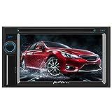 Pumpkin Autoradio 2 Din DVD Player mit 6,2 Zoll Kapazitiver Touchscreen Unterstützt Bluetooth USB CD SD Aux Rückfahrkamera Lenkradfernbedienung Universal