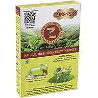 ZingySip Tulsi Green Tea with Ginger (90-100cups)