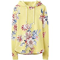 Joules Marlstonprint Striped Semi-Fitted Womens Sweatshirt (Y)