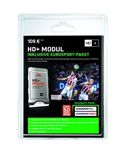 HD+ Modul inklusive Eurosport-Paket und Sender-Paket für 6 Monate