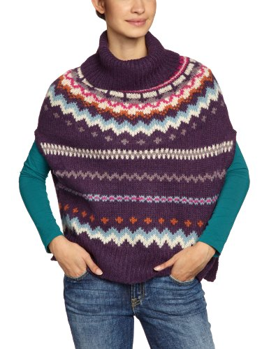 Only - Maglia jumper, manica lunga, donna Multicolore (Mehrfarbig (MYSTERIOSO Pattern: White Swan/Verry Berry.....)) S/M