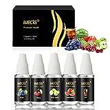 E-Liquids IMECIG® E-LIQUID-BOX Premiumset für E Zigaretten/Elektrische Zigarette/E Shisha (Reich der Früchte)