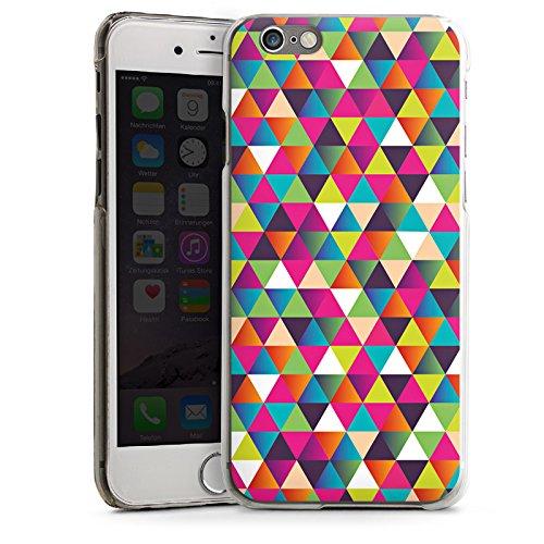 Apple iPhone SE Housse Outdoor Étui militaire Coque Triangles Triangles Triangles CasDur transparent