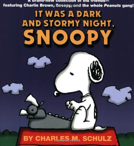 Click for larger image of It Was a Dark and Stormy Night, Snoopy