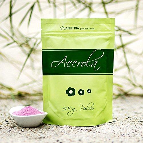Vivanutria - Acerola Berry in polvere - 500g - qualità