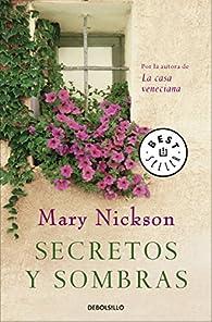 Secretos y sombras par Mary Nickson