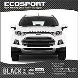 #9: ECOSport Front BLACK Sticker