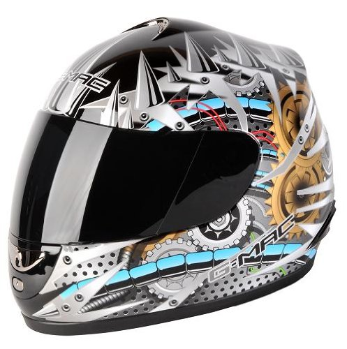g-mac-g-mac-mechanics-full-face-helmet-black-silver-gold-xl