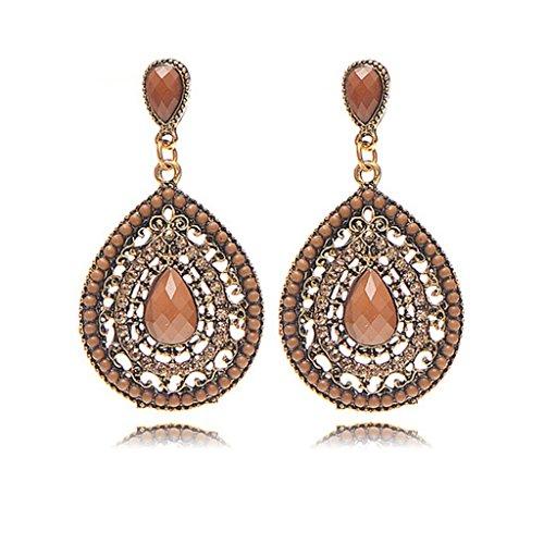 vintage-bohemian-style-fashion-women-handmade-crystal-drop-shaped-dangle-stud-earrings-brown