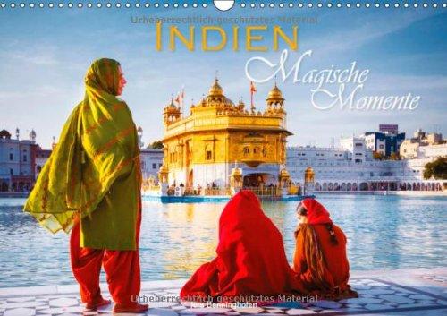 Indien Magische Momente (Wandkalender 2014 DIN A3 quer): 12 farbenprächtige Bilder aus Indien (Monatskalender, 14 Seiten)