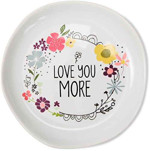 Love You More von Amylee Wochen Jewelry Gericht Love You More Geschenk Verpackung (Tray Cracker)
