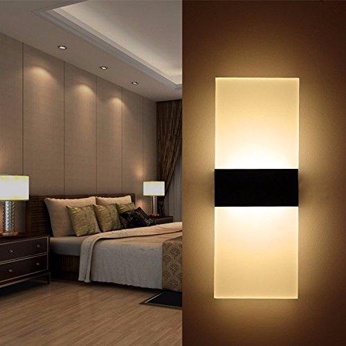 Kreative Led - Wand - Lampe, Modernen Minimalistischen Bar, Herberge Trim, Ktv Dekorative Leuchten, Innere Wand Lampe,D (Dekorative Wand-trim)