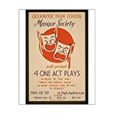 Impression photographique d'Oceanside High School Masque Society sera Present 4 One Act