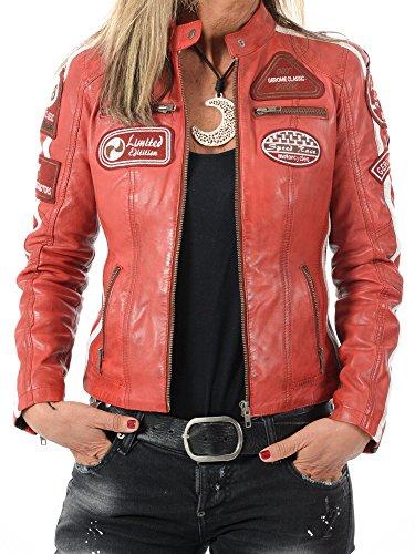 YoungSoul Chaleco de piel sintetico para Mujer - Cazadoras sin mangas de  motorista - Chaquetas de c38ffc13e7b3