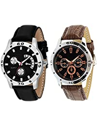 On Time Octus Combo Of 2 Analog Watch For Boys And Mens- OT-207-212